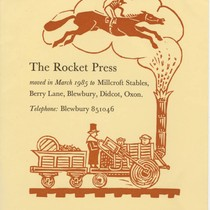 """""The Rocket Press moved,"""" Announcement"