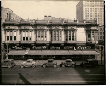 Delger building, northwest corner of 13th Street and Broadway in downtown Oakland, ...