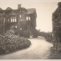 [Back view of mansion]