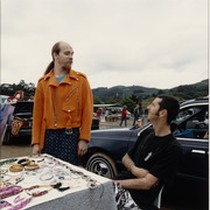 Marin City Flea Market, circa 1990 [photograph 012]