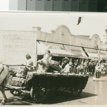 Admission Day Parade, San Mateo Avenue, 1930s