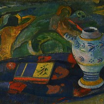 Nature morte la cruche de Quimper (Still life with Quimper pitcher)