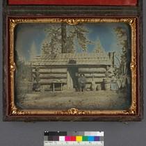 [Coyote & Deer Creek Water Co. Office, near Nevada City, 1852] (Detail ...