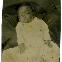 Baby portrait of Mayme C. Netherland