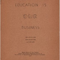 1951 Annual Report Education is our Business