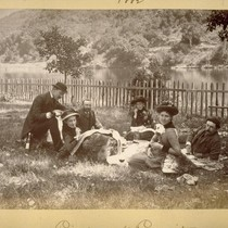 Picnic at Lagunitas. 1882