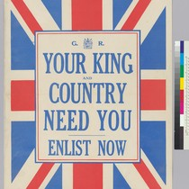 G.R. Your King and Country need you: Enlist now