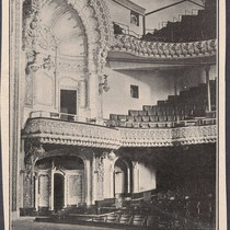[Clipping of the interior of the Majestic Theater in San Francisco]