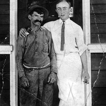 Charles Fry and Ernest Reimers (1894-1965), (c. 1919), photograph