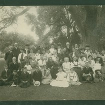 Group Photo, Including Mrs. F.W. Crandall and son Harold Crandall