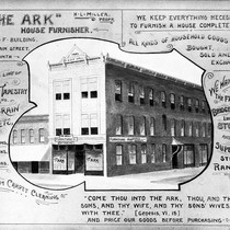Advertisement for The Ark furniture store