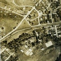 Aerial View showing Emporium Country Club, circa 1928 [photograph]