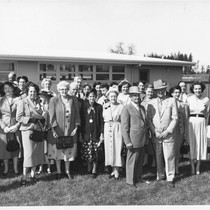 100th centennial of Oak Grove School, Graton, California, 1954