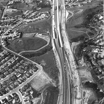 Aerial view of Hillcrest Drive extension