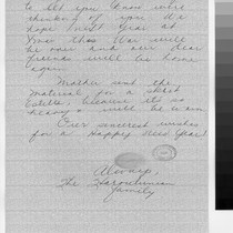 Letter, to Mr. and Mrs. Arthur Ishigo