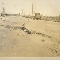 [Cracks in Street, 1925]