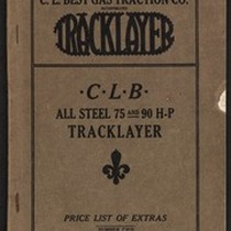 C. L. B. All Steel 75 And 90 H.P. Tracklayer