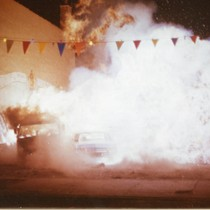"Car crash stunt sequence from ""Bad Boys"" (7)"