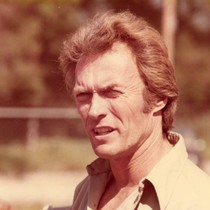 "Actor Clint Eastwood on the set of ""Every Which Way But Loose"""