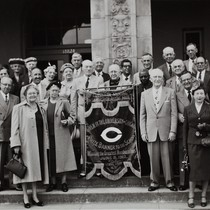 Alumni at Special Assembly Day, April 30, 1952