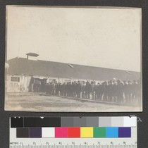 1906. Camp Ingleside. Set up at Race Track to house refugees as ...