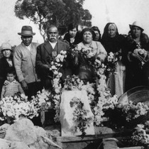 Estrada Funeral, Holy Cross Cemetery [graphic]