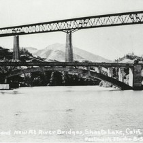 The Old and New Pit River Bridges