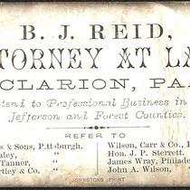 B. J. Reid Attorney at Law
