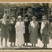 The Hetch Hetchy Project 1924. The lady on the left is Miss ...