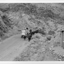 The 20 Mule Team Passing Wildrose Station November 27 1949 Enrute to ...