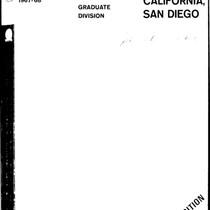 UC San Diego General Catalog, 1967-1968