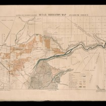 California State irrigation map: Anaheim sheet, 1888