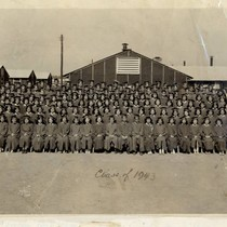 1943 graduating class at Denson High School at Jerome Relocation Center