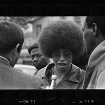 Angela Davis after Black Panther shootout, Los Angeles (Calif.)