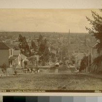 Los Angeles, 2nd Street from the hill [about 1894]
