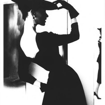 Barbara Mullen, Flat Hat, Bare Back, Harper's Bazaar, New York, 1958