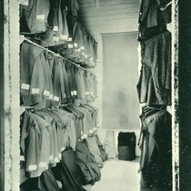Clothing Room, San Quentin Prison, Marin County, California, circa 1919 [photograph]