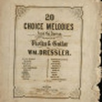 20 Choice melodies from the operas- lucrezia