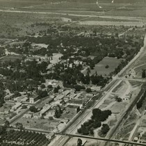 Aerial view of Claremont