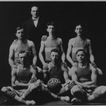1909 City Basketball Team, Porterville, Calif