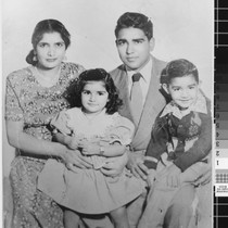 Photograph of Sohan Singh Rai and Family portrait