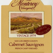 The Monterey Vineyard, Cabernet Sauvignon, 1979