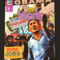 "Barack Obama """"The Rising Sun"""" Story Comic Book"