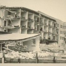 California Hotel [Back], Santa Barbara Quake, June 29-25 [June 29, 1925]