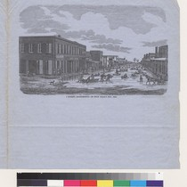 J Street, Sacramento, on New Year's Day, 1853 [California]