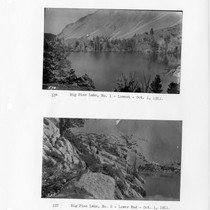 Big Pine Lake, No. 1, lowest & Big Pine Lake, No. 2, ...