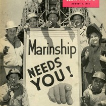 Front cover of The Marin-er, a Marinship publication, Marin County, August 5, ...