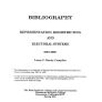 Bibliography: Representation, Redistricting and Electoral Systems 1987-1990
