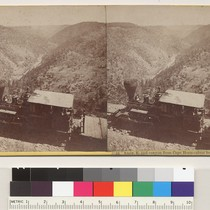 Amer. R. [American River] and canyon from Cape Horn--river below RR. 1400 ...