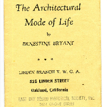 """The architectural mode of life"""